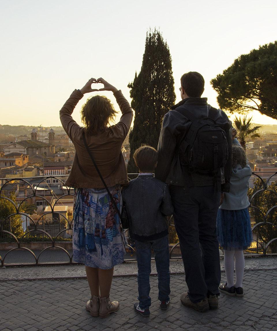 Обзорная экскурсия в Риме для всей семьи