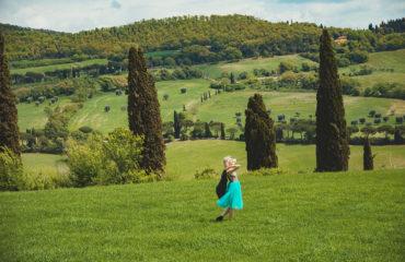 Фотосессия и дегустация вина в Тоскане