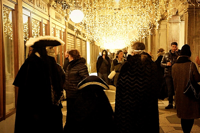 Венеция во время карнавала