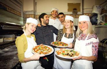 мастер-класс по приготовлению пиццы в риме