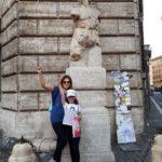 Участники квестов в Риме