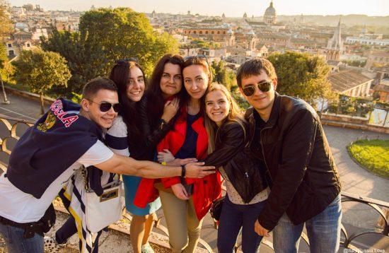 квест в Риме для компании