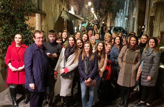 Корпоративный квест в Риме