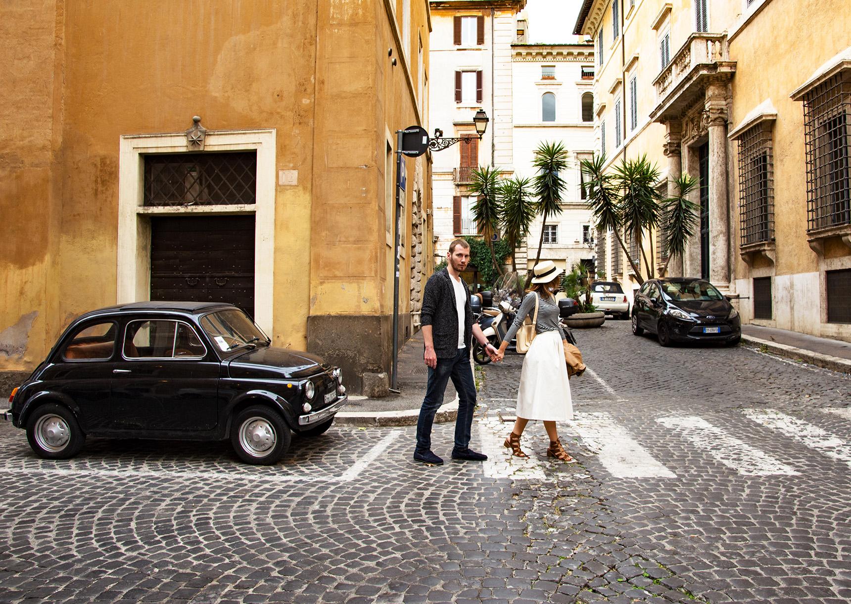Фотосессия в стиле «Римских каникул»