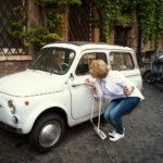 Фотосессия в стиле Римских каникул