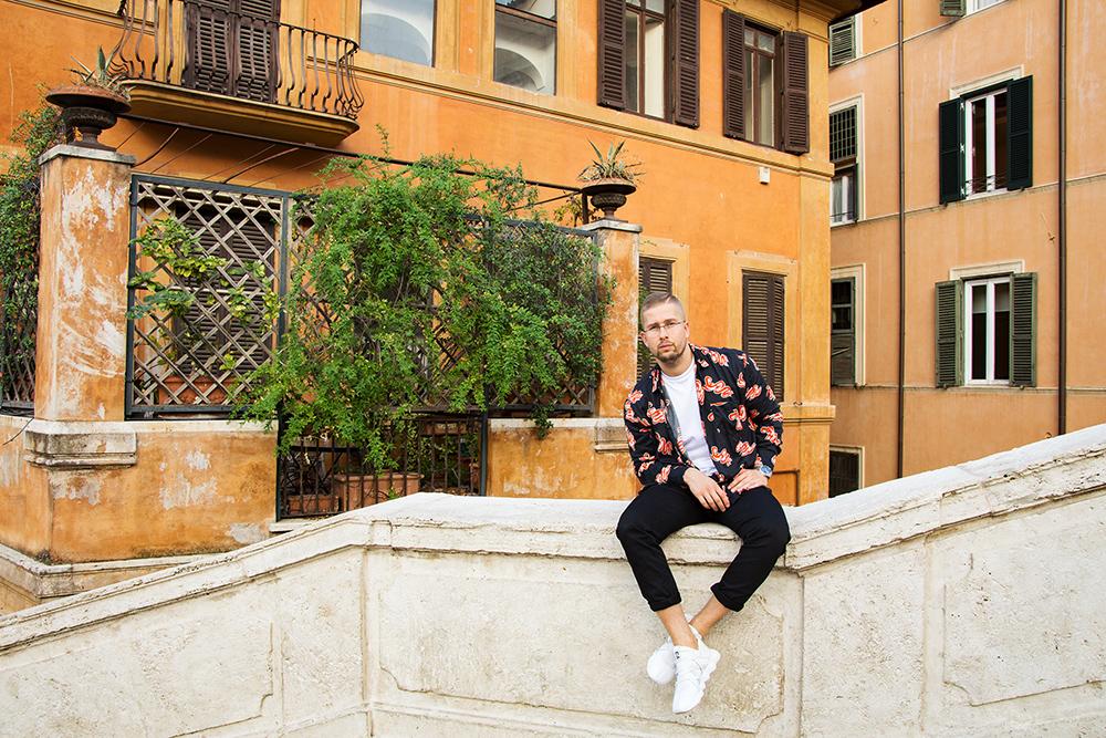 Мужская фотосессия в Риме