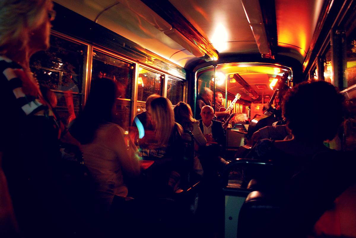 Джаз-трамвай в Риме