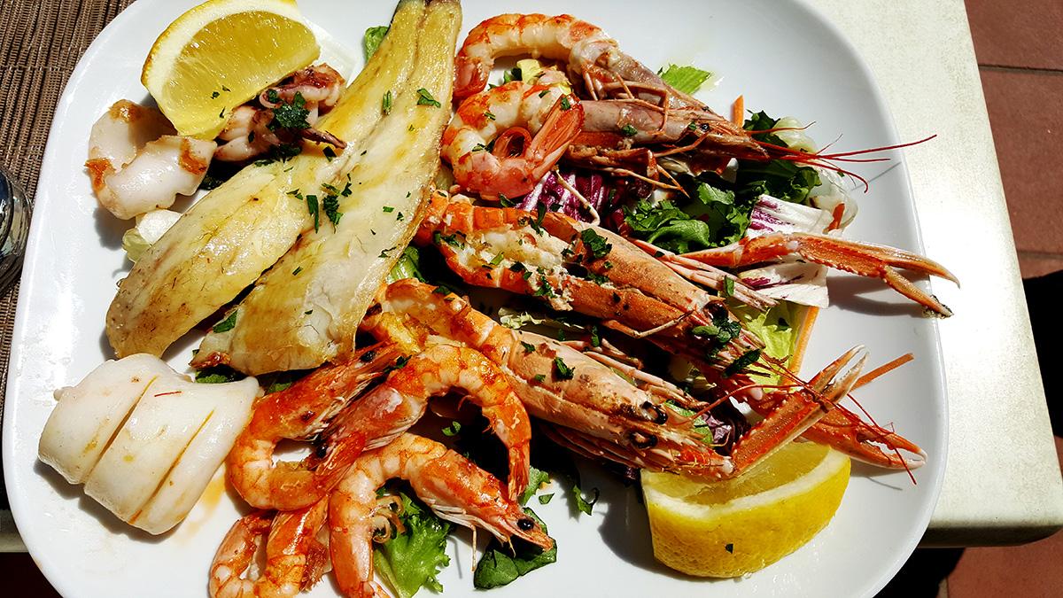 Лидо-ди-Остия где поесть морепродукты