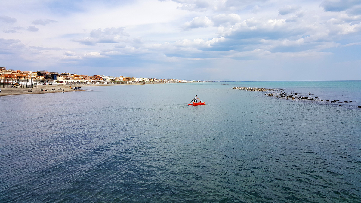 пляж рядом с римом