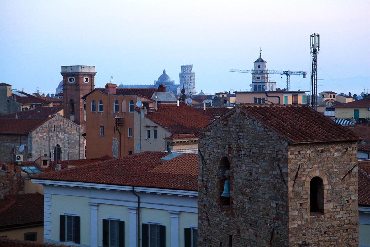 Вид на Пизанскую башню