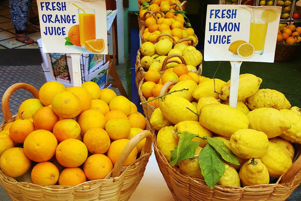 итальянские лимоны