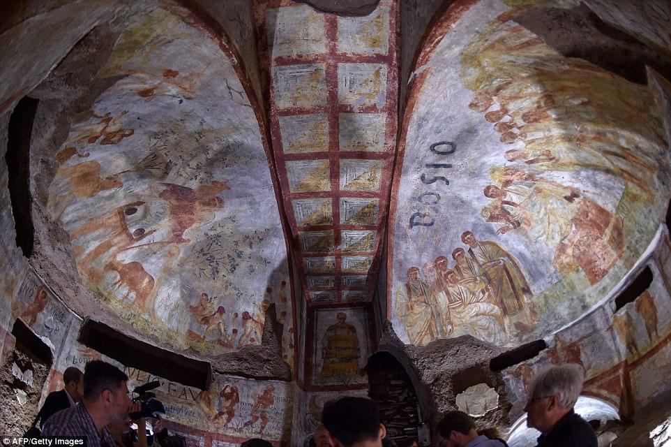 катакомбы святой домициллы
