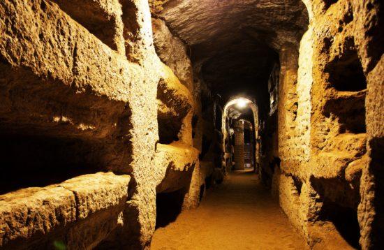 экскурсия в римские катакомбы