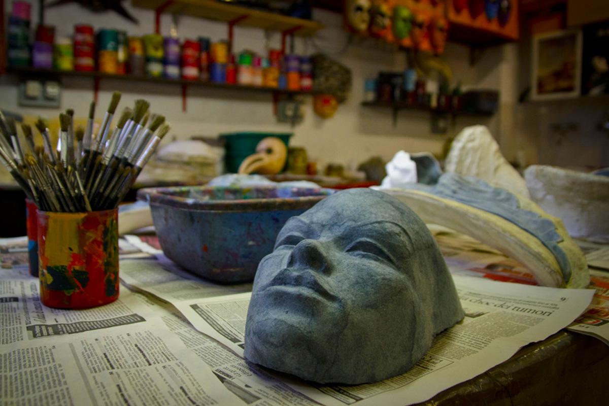 мастер класс по созданию венецианской маски