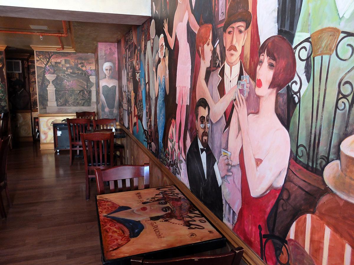 необычный итальянский ресторан