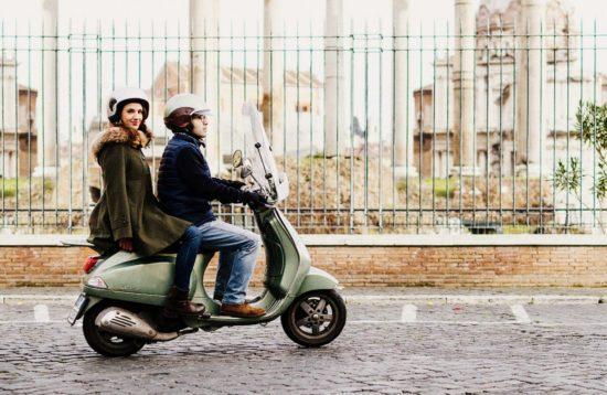 тур по Риму на Vespa