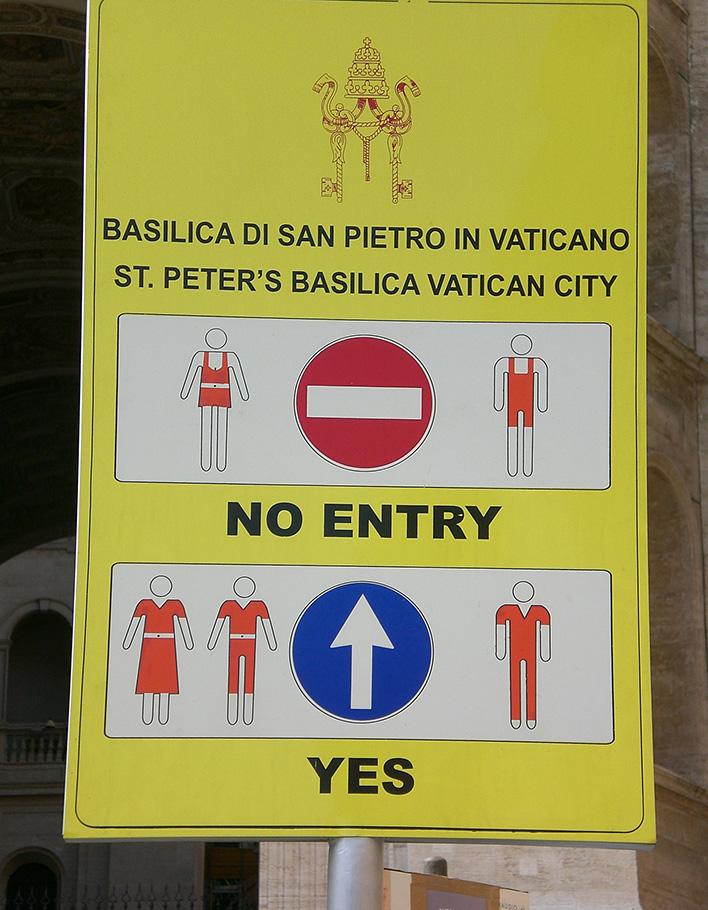 дресс-код в Италии