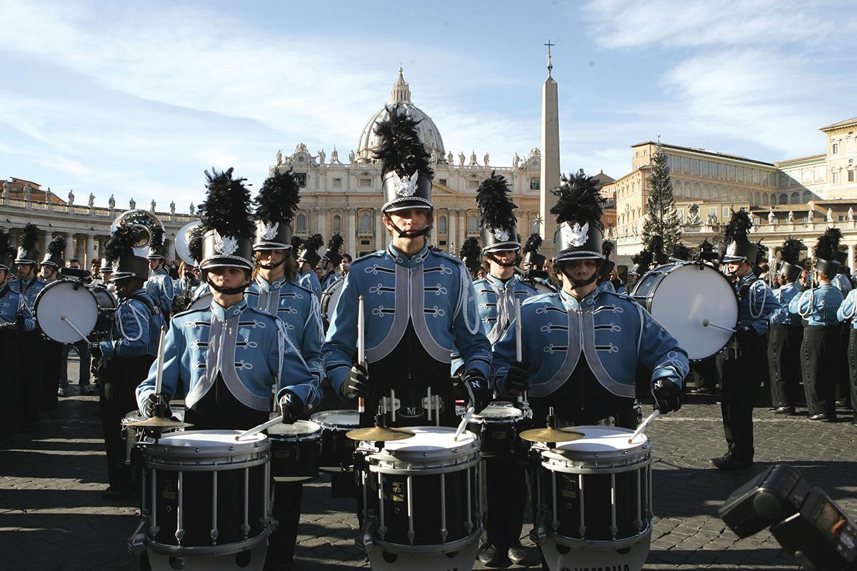 Новогодний парад в Риме