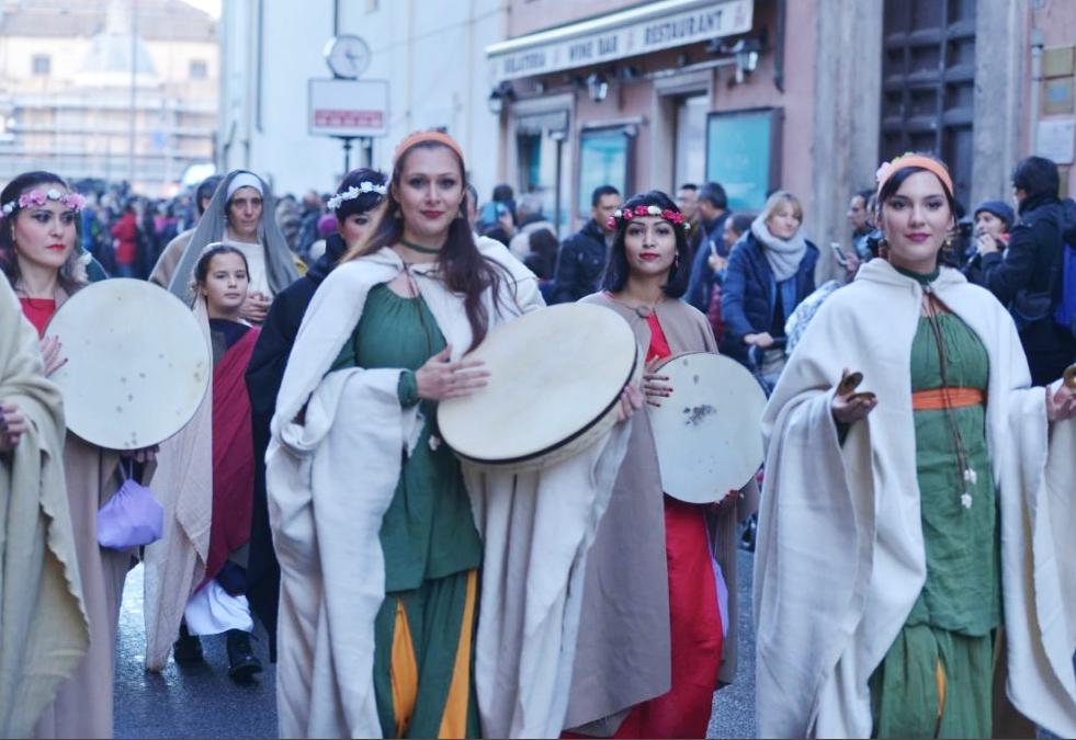 Новогодний римский парад