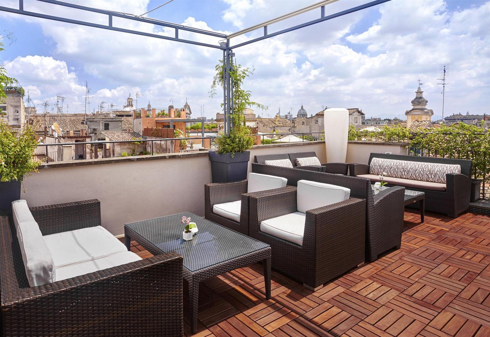 ресторан с панорамной террасой