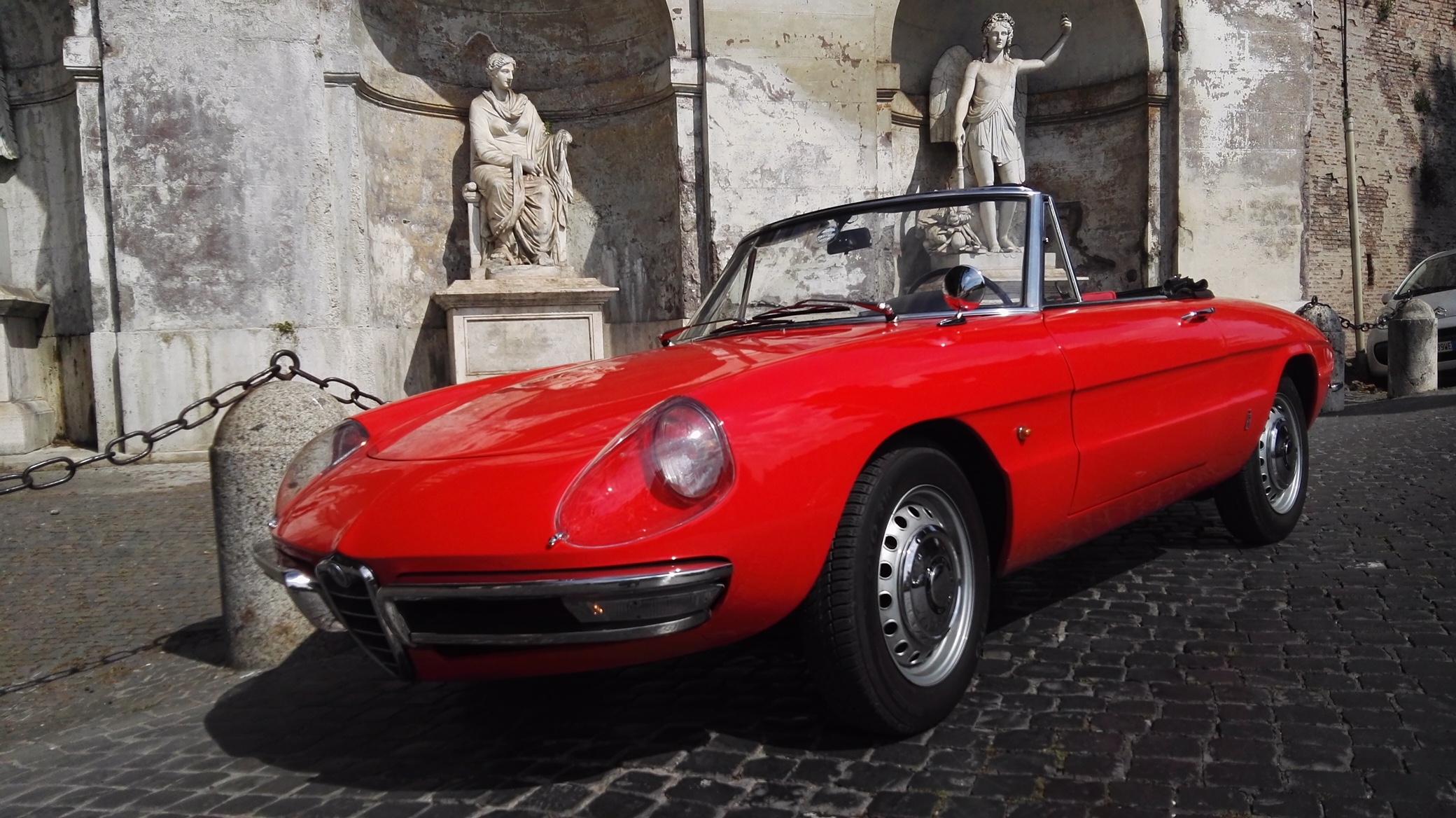 """Alfa Romeo Spider """"Osso di Seppia """""""