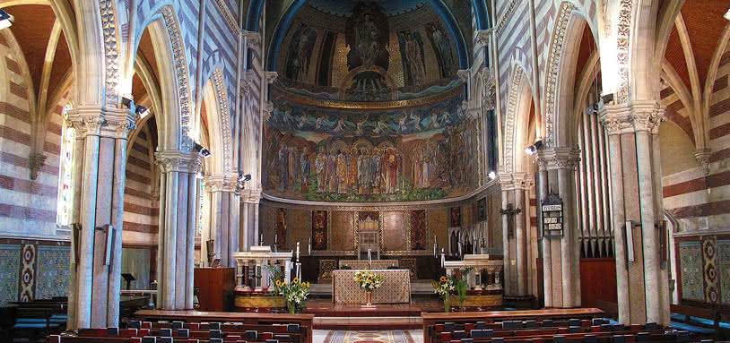 церковь святого павла внутри крепостной стены