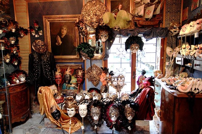 мастерская масок в Венеции