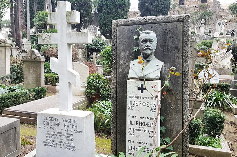 Некатолическое кладбище в Риме 2