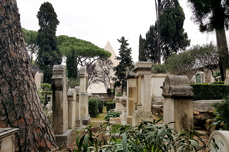 Некатолическое кладбище в Риме