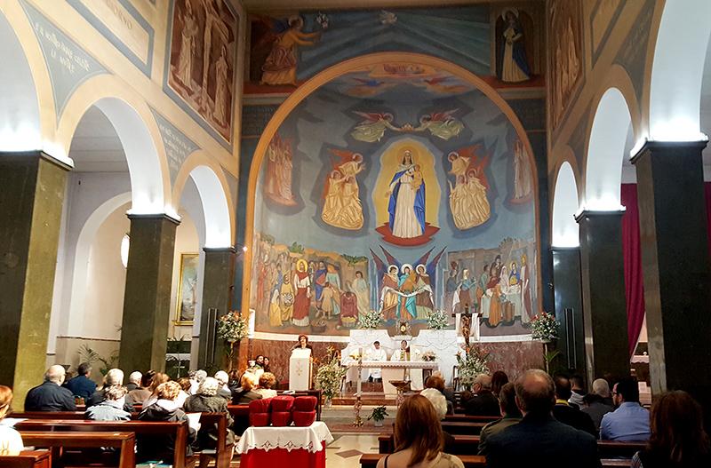 пасхальная служба в католической церкви