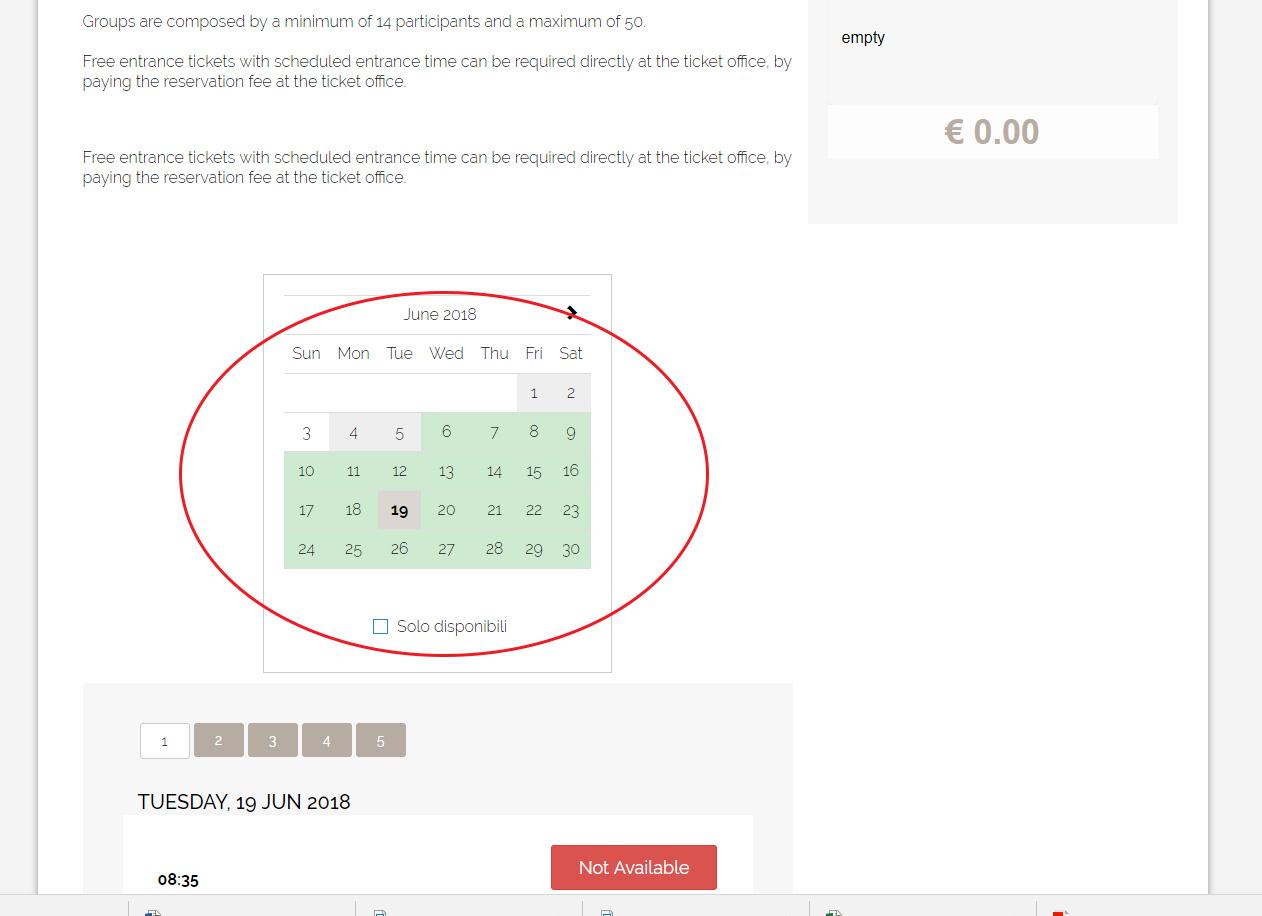 Как купить билеты в Колизей 44
