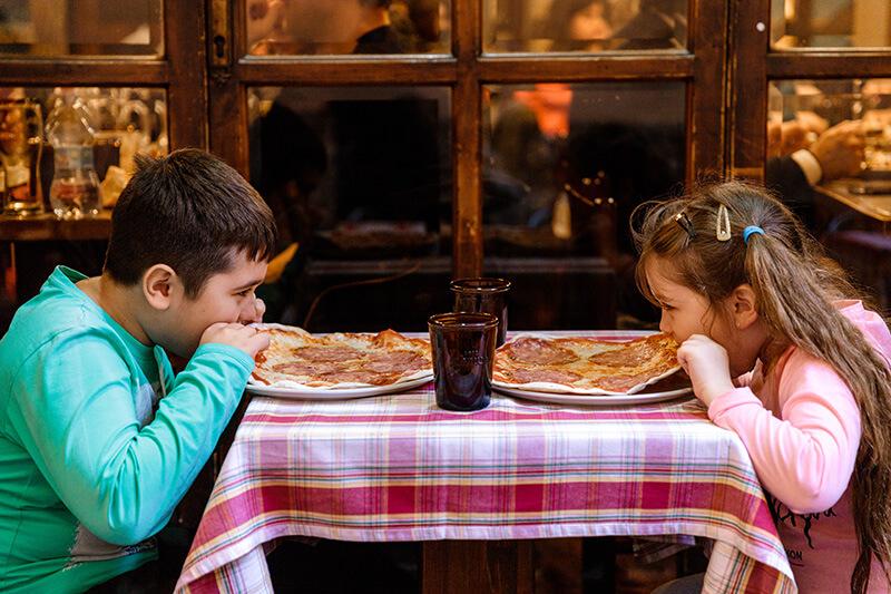 Пицца в Риме