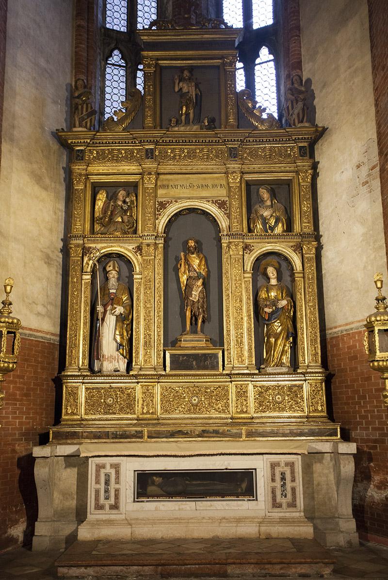 Санта-Мария-Глориоза-деи-Фрари скульптура Донателло