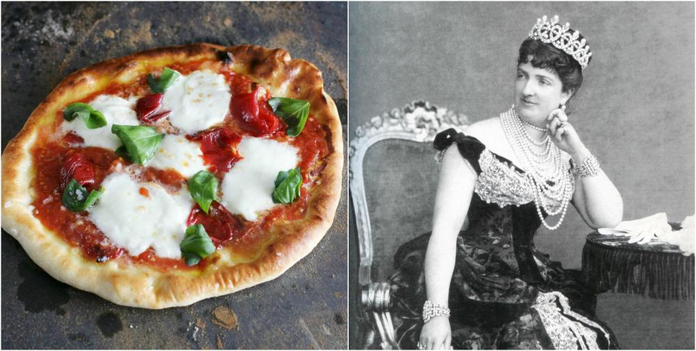 королева маргарита и пицца маргарита