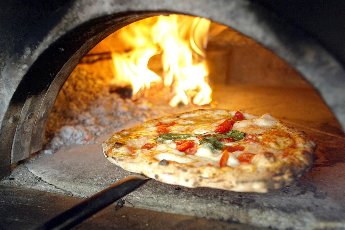 пицца в печь
