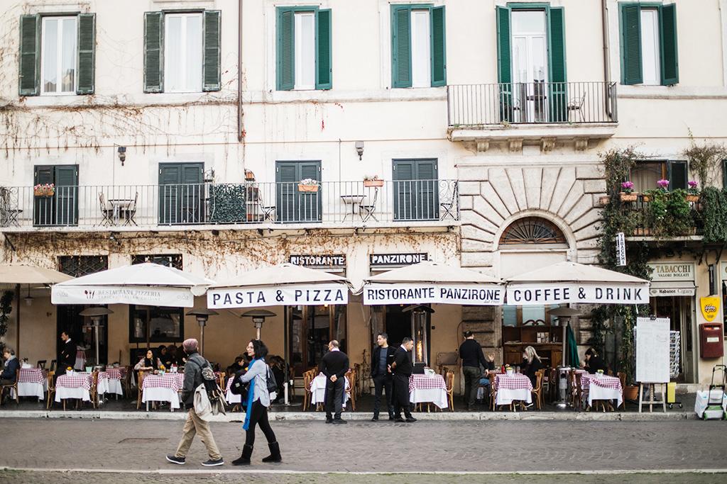 рестораны на площади навона