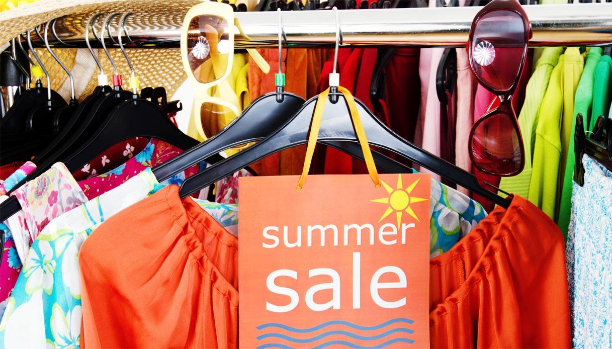 летние распродажи