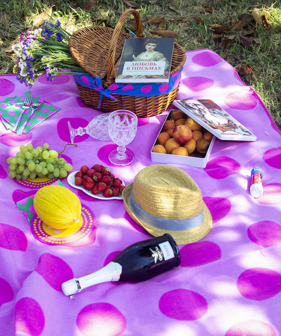Пикник в римском парке