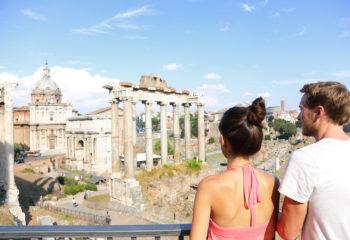 рим в июле римский форум