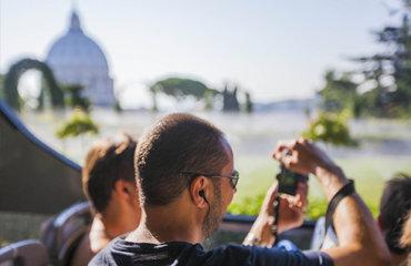 Сады Ватикана открытый автобус