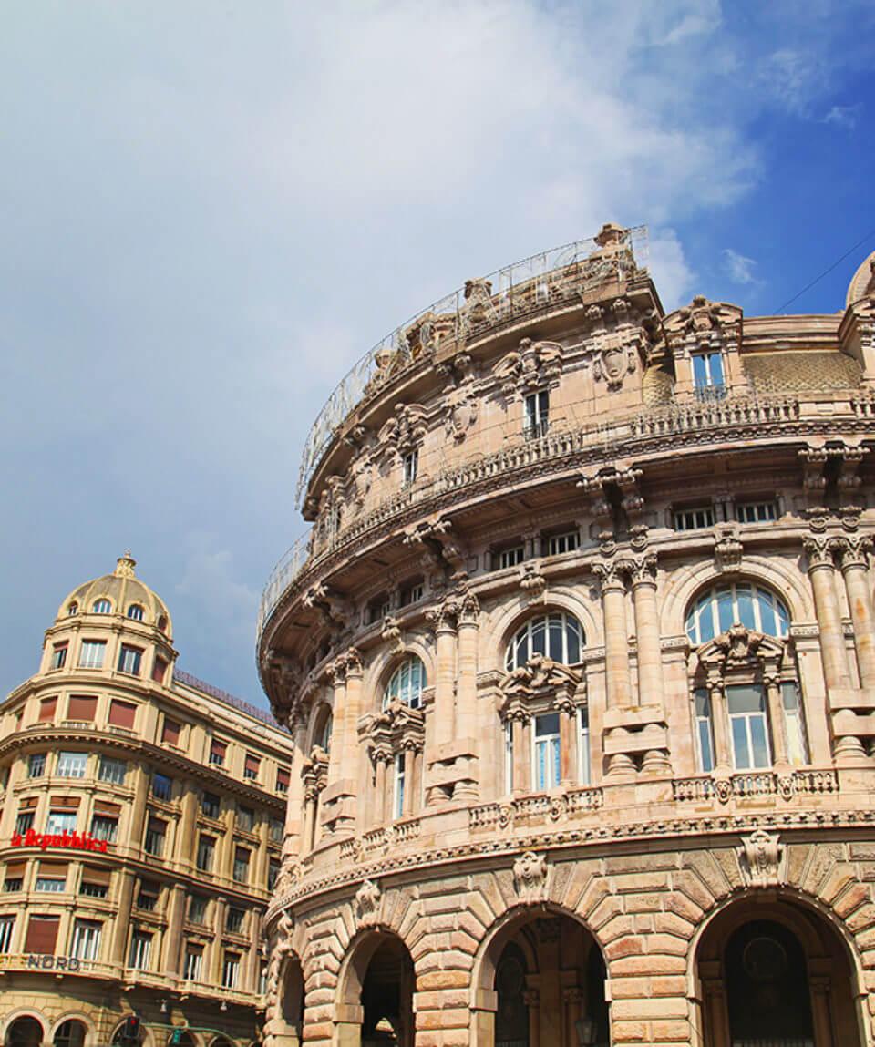 Экскурсия в Генуе