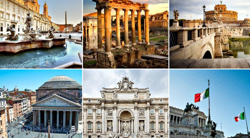топ-20 достопримечательностей Рима