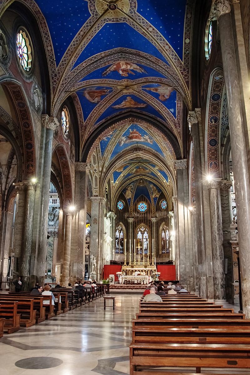 церковь санта мария сопра минерва ТОП-20 достопримечательностей Рима