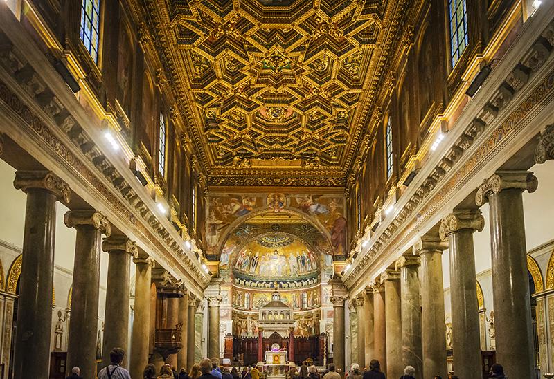 Базилика Санта-Мария-ин-Трастевере