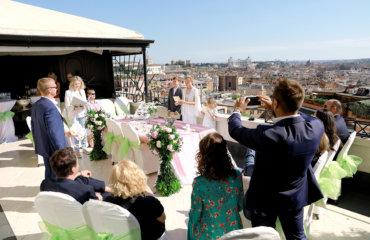 Обновление свадебных клятв в Риме