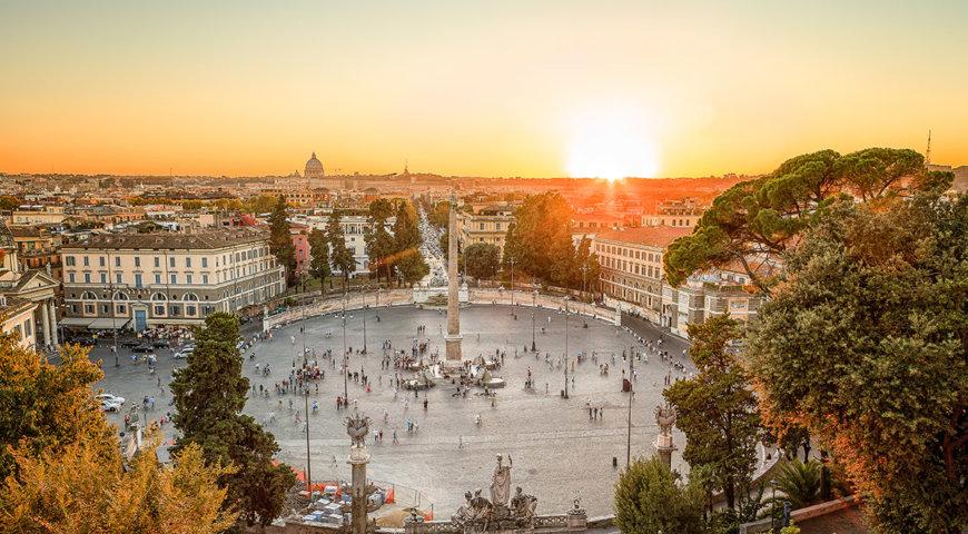 Рим в октябре погода