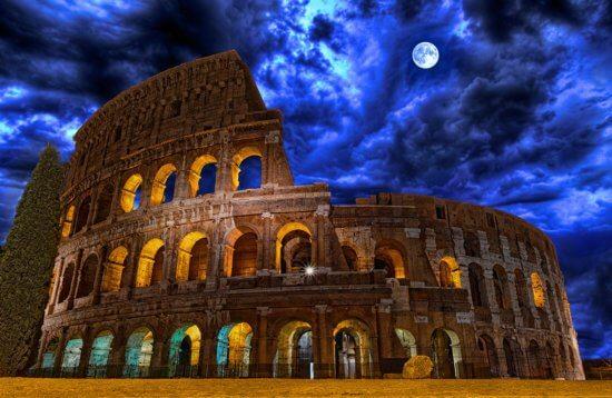 Ночной Колизей