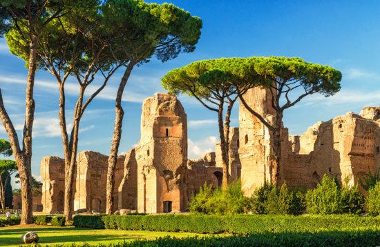 термы Каракаллы экскурсия в Риме