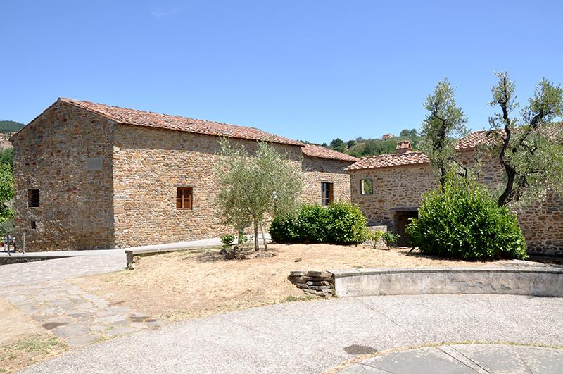 Анкиано, место, где родился Леонардо