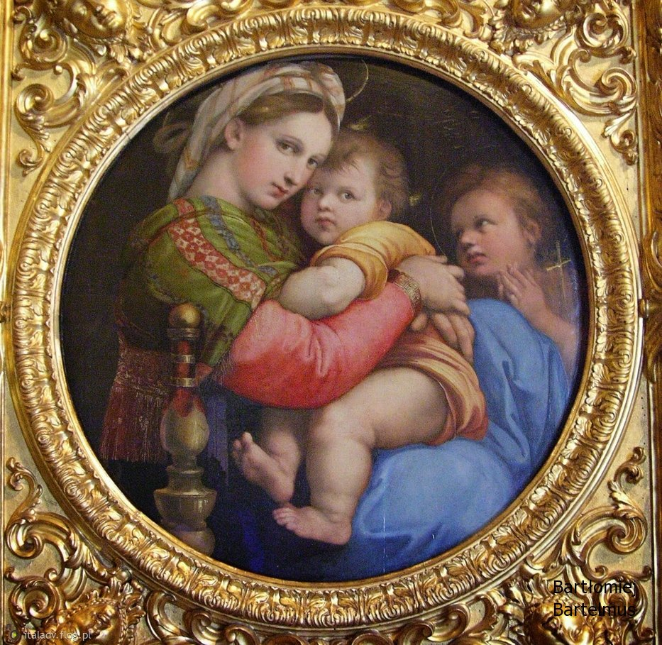Мадонна в кресле, 1513 г